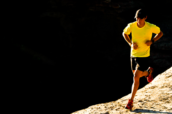 Koszulki do biegania powinny być lekkie, wykonane z oddychającego materiału (fot. Arc'teryx)
