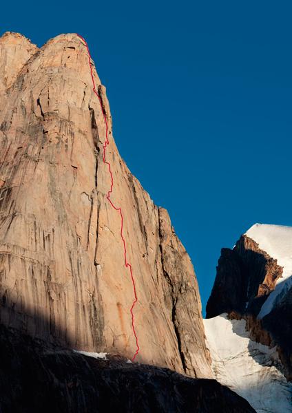 Wyprawa na Ziemię Baffina: droga Bavarian Direct (fot. adidas Outdoor)