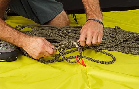 Arc'teryx, torba Haku Rope Bag - krok 1