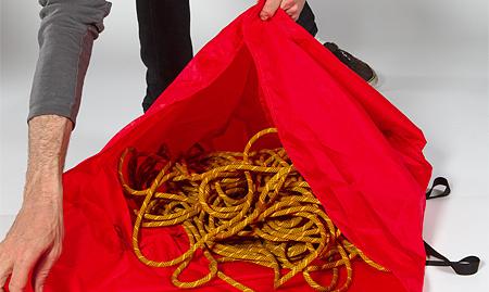 Arc'teryx, torba Haku Rope Bag - krok 2