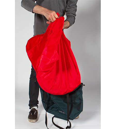 Arc'teryx, torba Haku Rope Bag - krok 3