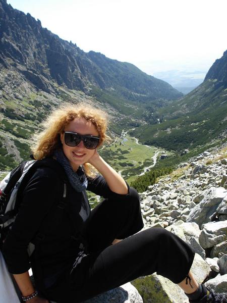 Największą pasją Eweliny są góry (fot. arch. Ewelina Domańska)