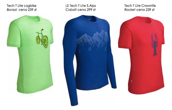 Męska kolekcja koszulek marki Icebreaker