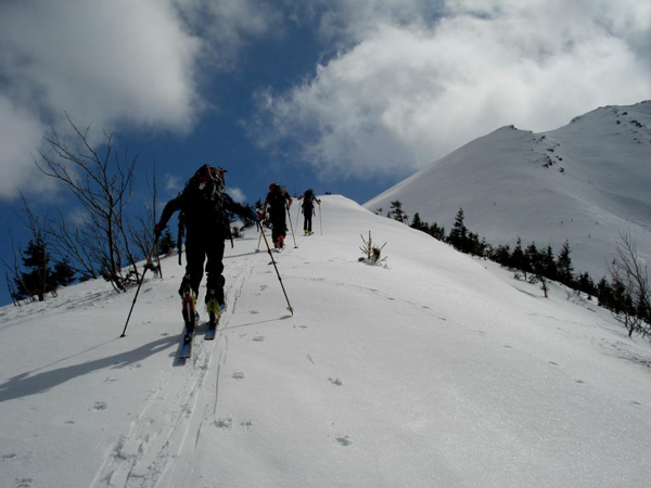 Tatry zarówno po polskiej, jak i słowackiej stronie doskonale nadają się na skitoury (fot. Piotr Sztaba/PZA)