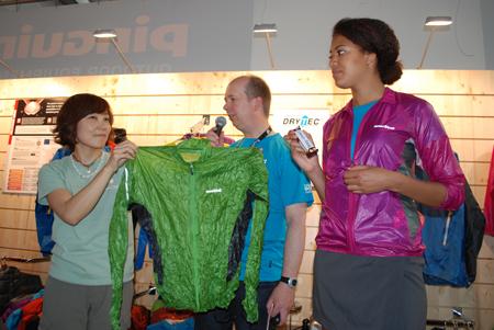 Hiro Muramatsu prezentuje kurtkę Tachyon Jacket (fot. 4outdoor)