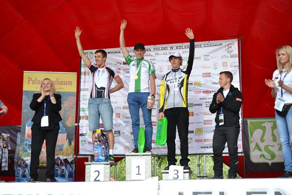 Zwycięzcy Akademickich Mistrzostw Polski w kolarstwie górskim 2013 (fot. AZS MTB CUP)