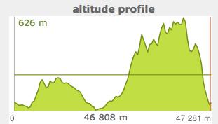 Maraton Bieszczadzki - profil