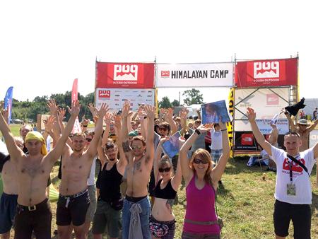 Radosne i gorące miasteczko Himalajskie POG na Woodstock 2012 (fot. POG)