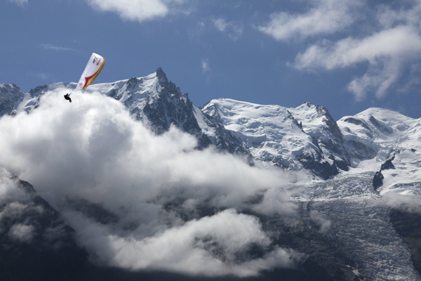 Red Bull X-Alps (fot. Olivier Laugero)