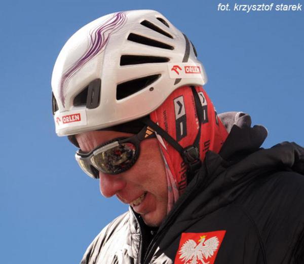 Artur Hajzer w C2 (fot. Krzysztof Starek)