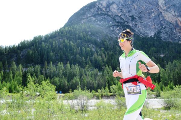 Kasia Zając podczas zawodów Cortina Trail (fot. Piotr Kosmala)