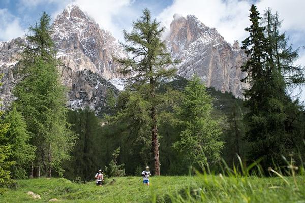 Trasa biegu Cortina Trail (fot. Riccardo Selvatico)