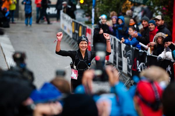 UTMB 2012 - Lizzy Hawker (fot. The North Face®/ Alo Belluscio)