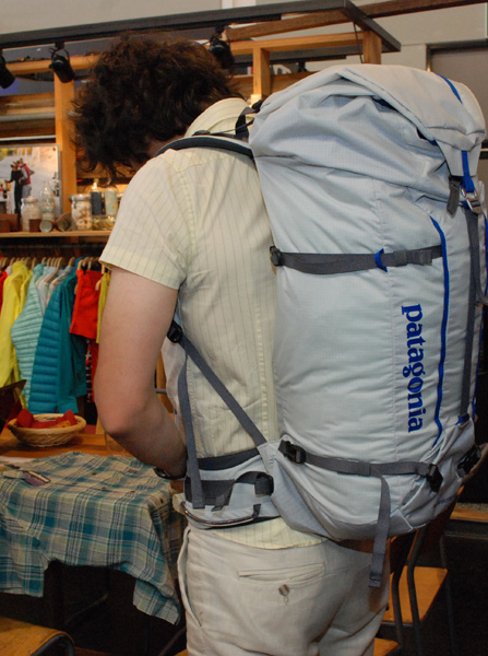 Patagonia, plecak Ascensionist Pack (fot. Outdoor Magazyn)