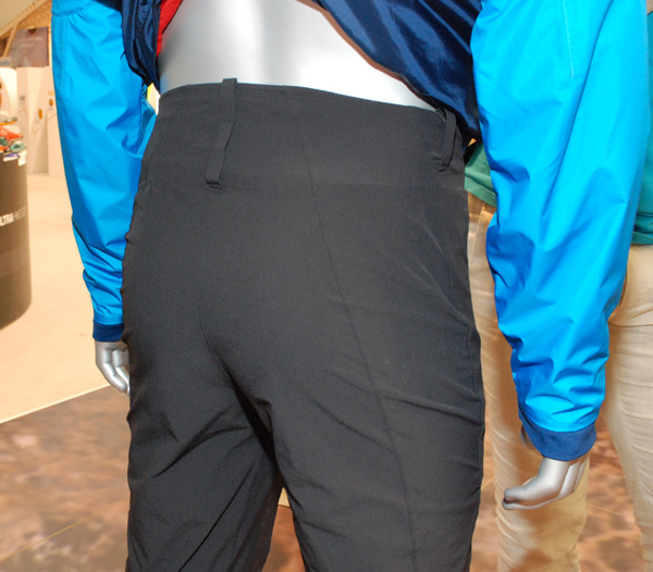 The North Face, spodnie Satellite Pant - tył (fot. Outdoor Magazyn)