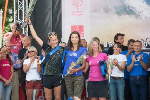 Zwyciężczynie UTMB 2013 (fot. Alo Belluscio)
