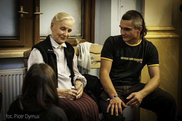 Rozmowy o górach między Anną Milewską i Arturem Małkiem (fot. Piotr Dymus)
