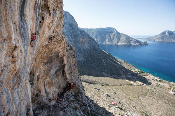 Sceneria festiwalu na Kalymnos (fot. Damiano Levati /The North Face®)