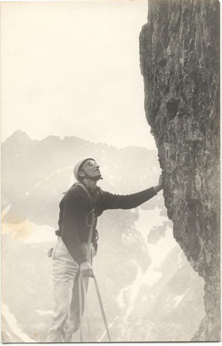 Wspinaczka w Tatrach (ok. 1964) (fot. M. i J. Kiełkowscy)
