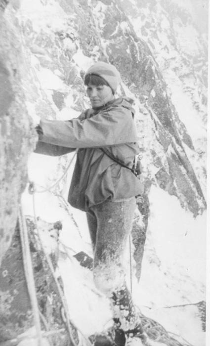 Zimowa wspinaczka w Tatrach – koniec lat 60. (fot. M. i J. Kiełkowscy)