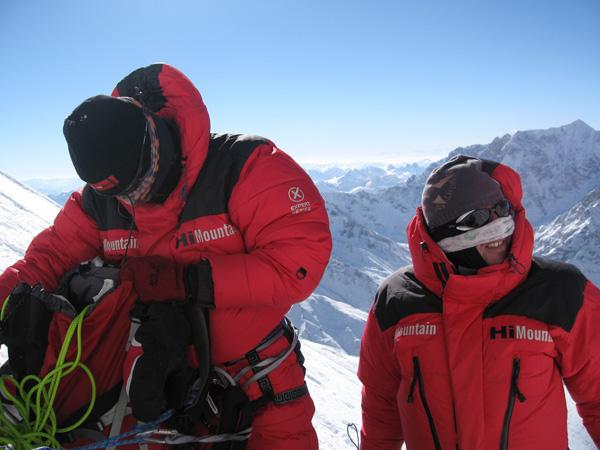 Zima 2006/2007. Artur Hajzer i Jacek Jawień na Nanga Parbat (fot. Dariusz Załuski)