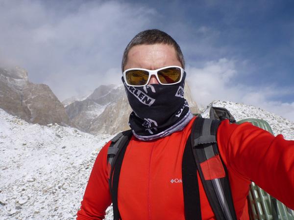 Zimowa wyprawa na Broad Peak: w drodze do ABC (fot. arch. Artur Małek)