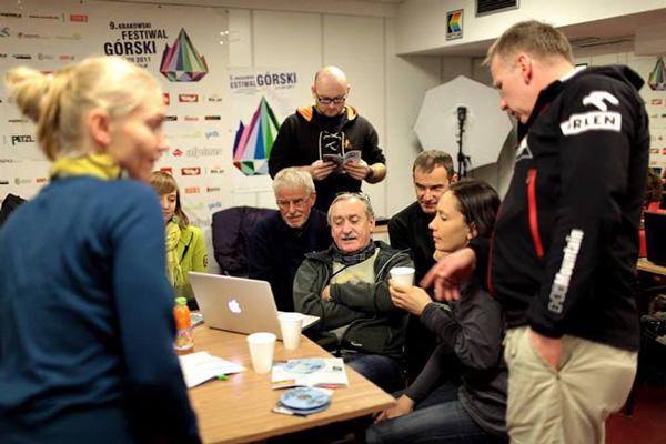 Jury i goście na 10. KFG (fot. Adam Kokot/KFG)