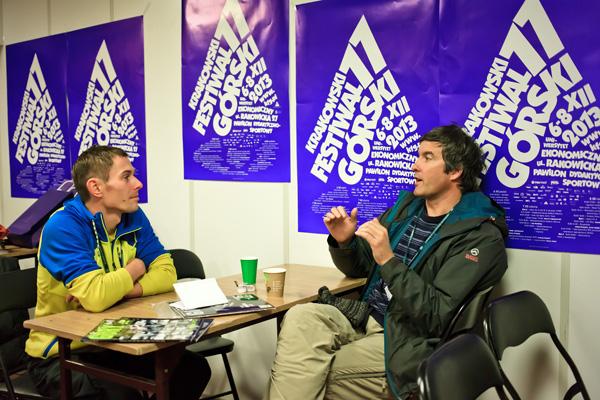 Adam Pustelnik i Mark Synnot na 11. KFG (fot. Lesław Włodarczyk)