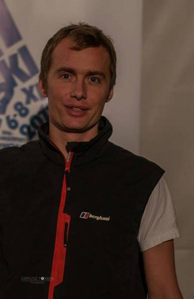 Leo Houlding na 11. Krakowskim Festiwalu Górskim (fot. Dariusz Porada)