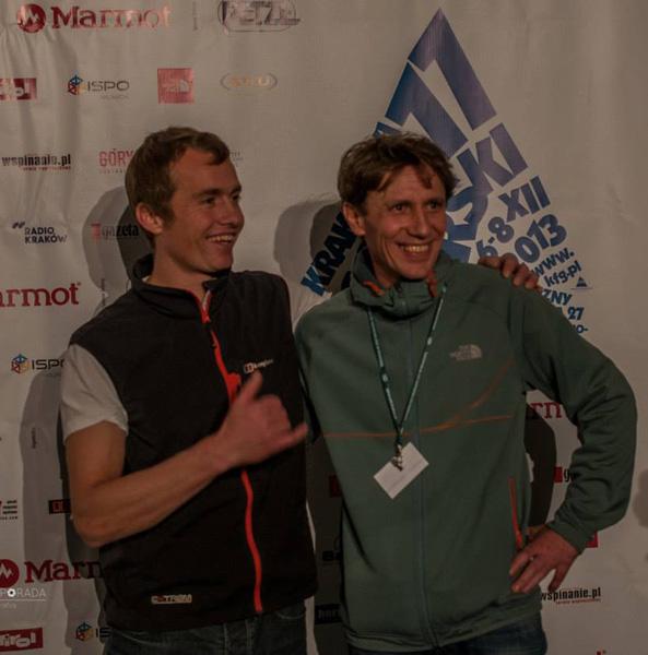 Leo Houlding i Piotr Turkot na 11. KFG (fot. Dariusz Porada)