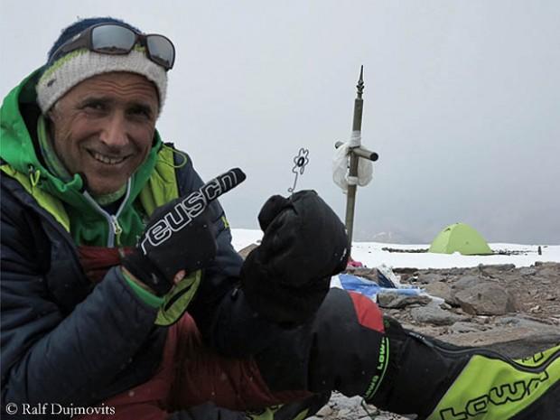 Ralf Dujmovits na Aconcagui (fot. Ralf Dujmovits)