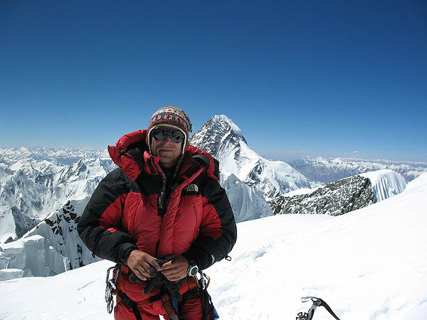 Pierwszy Słowak na szczycie Broad Peaka – Peter Hamor, 8 lipca 2006