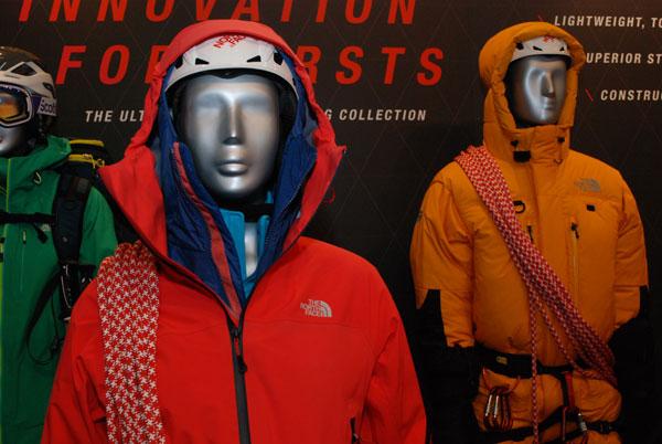Targi ISPO MUNICH 2014 - nowości od The North Face (fot. Outdoor Magazyn)
