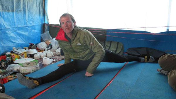 Joga (fot. The North Face/David Gottler)