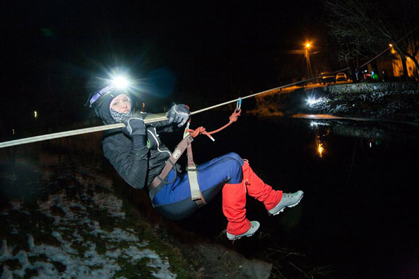 Zimowy Rajd 360 Stopni na Mazurach 2014