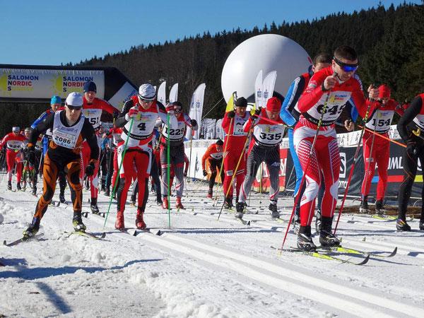 Zakończenie Salomon Nordic Sunday 2014 (fot. Stacja Jakuszyce)