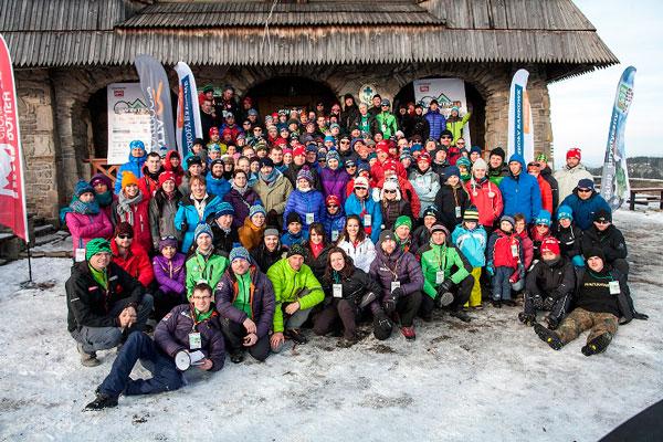 WinterCamp 2014 - uczestnicy w komplecie (fot. WinterCamp)