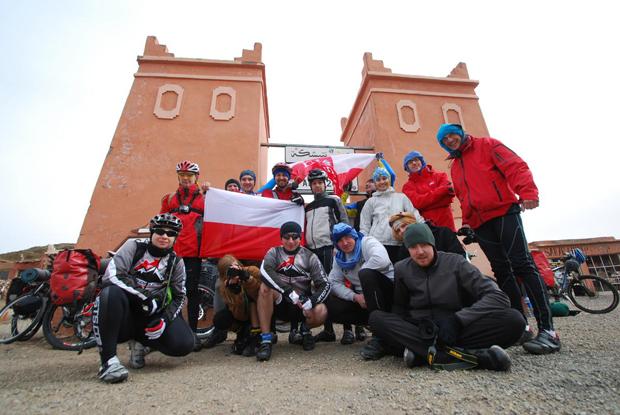 Pustynna wyprawa polskiej grupy rowerowej United Cyclists