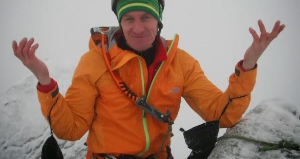 Denis w Tatrach (fot. Adam Bielecki)
