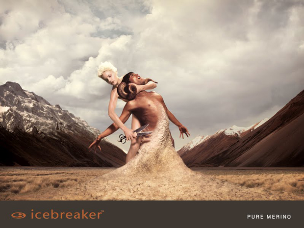 Okładka katalogu marki Icebreaker z 2006 roku