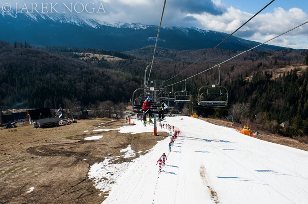 Wiosenno-zimowa aura na IX Polar Sport Skitour im. Basi German (fot. Jarek Noga)