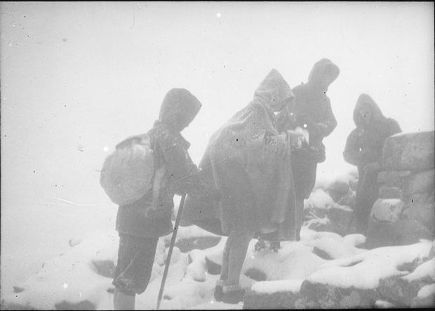 Na Rysy w młodym śniegu (fot. arch. KW Toruń)