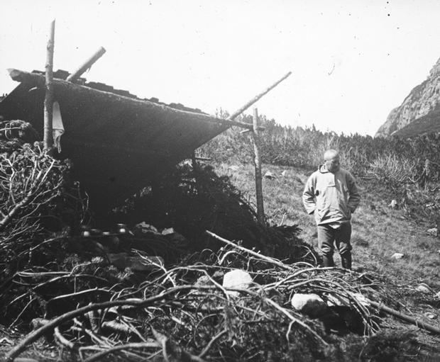 Szałas nad Czarnym Stawem Jaworowym (fot. arch. KW Toruń)