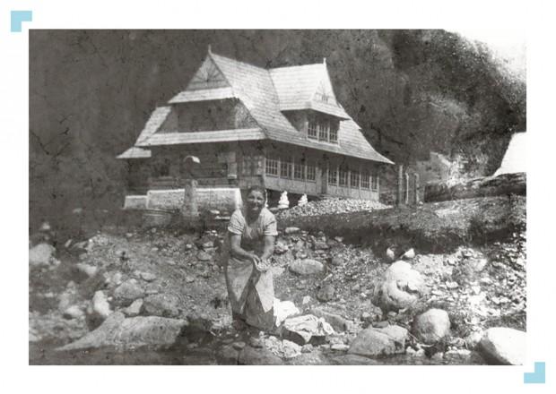 W Dolinie Chochołowskiej (fot. autor nieznany / 1936-1945)