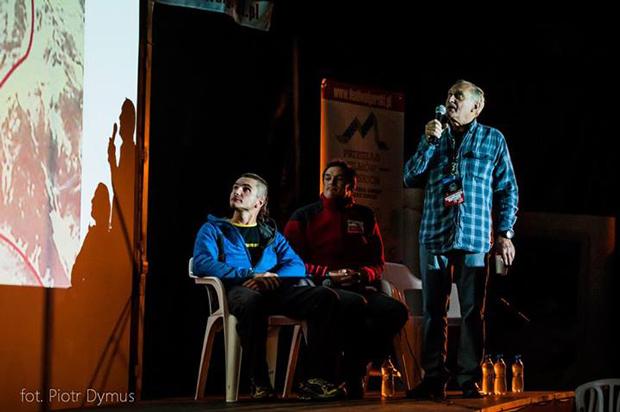 Panel o Broad Peak na festiwalu w Lądku Zdroju (fot. Piotr Dymus)