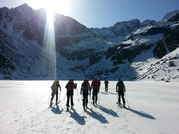 Skitouring w Tatrach (fot. Monika Strojny)