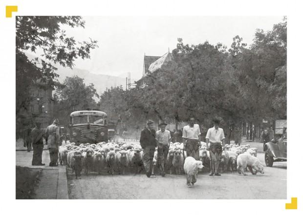 Zakopane ul. Kościuszki (fot. Zbigniew Kamykowski)