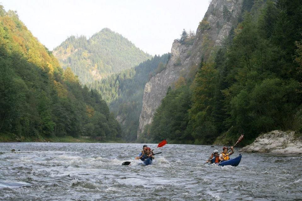 Mountain Touch Challenge 2012 - etap kajakowy