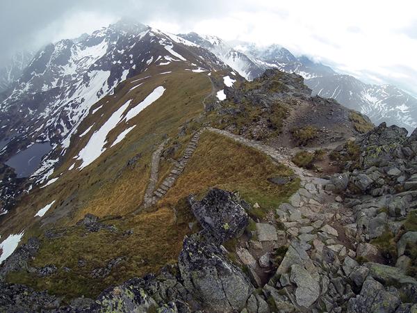 Widok z Beskidu na Tatry Wysokie (fot. Marcin Świerc)