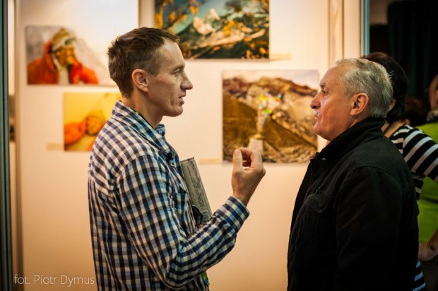 Do stałych gości Festiwalu należy Krzysztof Wielicki, na zdjęciu z Denisem Urubko (fot. Piotr Dymus)
